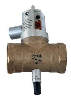 КЗГЭМ-У клапан запорный газовый электромагнитный